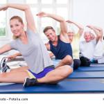 Gymnastik in der Gruppe macht mehr Spaß
