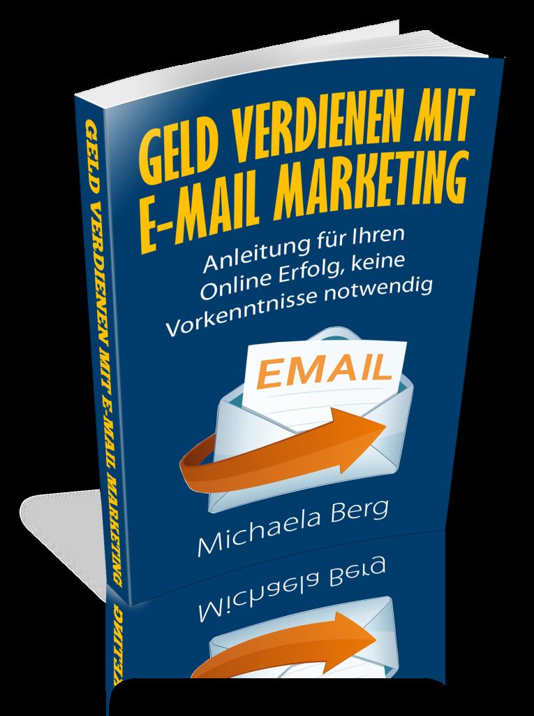 Ebook cover 3d Geld verdinene mit Email Marketing hyqiceno3d