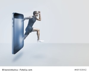 Fitness Apss fürs Smartphone liegen voll im Trend